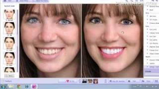 Repeat youtube video Facil! Programa Para Retocar y Maquillar Fotos (Cara) En Un Clic