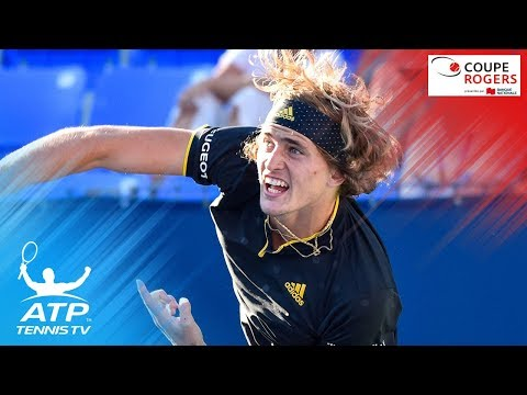 Zverev & Gasquet Phenomenal 49-shot rally to save match point | Coupe Rogers Montreal 2017