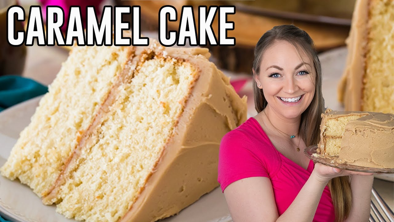 How To Make Caramel Cake Youtube