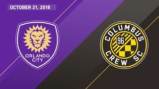 HIGHLIGHTS: Orlando City SC vs. Columbus Crew SC | October 21, 2018
