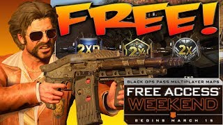 Black Ops 4: FREE Black Ops Pass Weekend LIVE Gameplay!