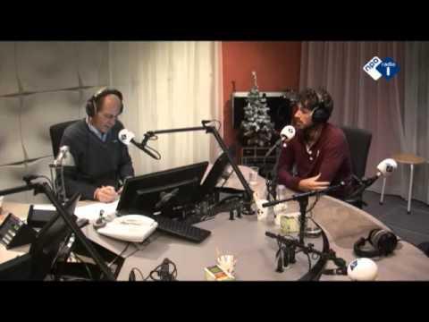 Tennisser Robin Haase te gast in het MAX-programma 'De Perstribune'