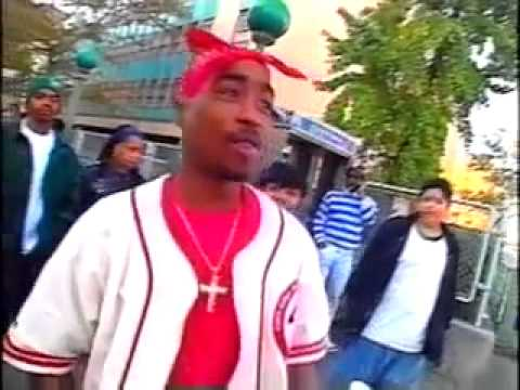 TUPAC UNSEEN INTERVIEW WITH BOX TV IN NEW YORK BEFORE HE GOT SHOT THE 1ST TIME (INDASTREETS ENT.)