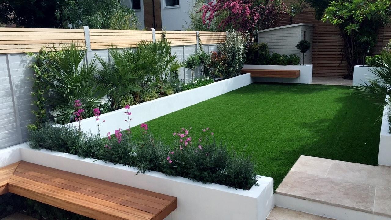 London Front Garden Design Ideas - YouTube