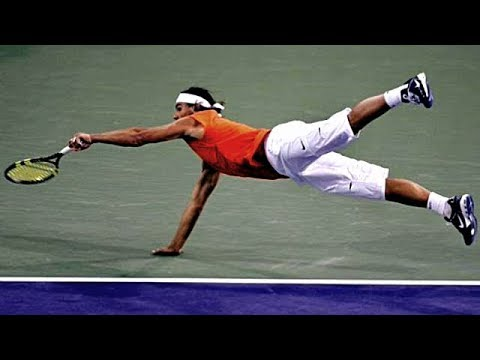 Rafael Nadal - Top 10 Inconceivable Gets [HD]