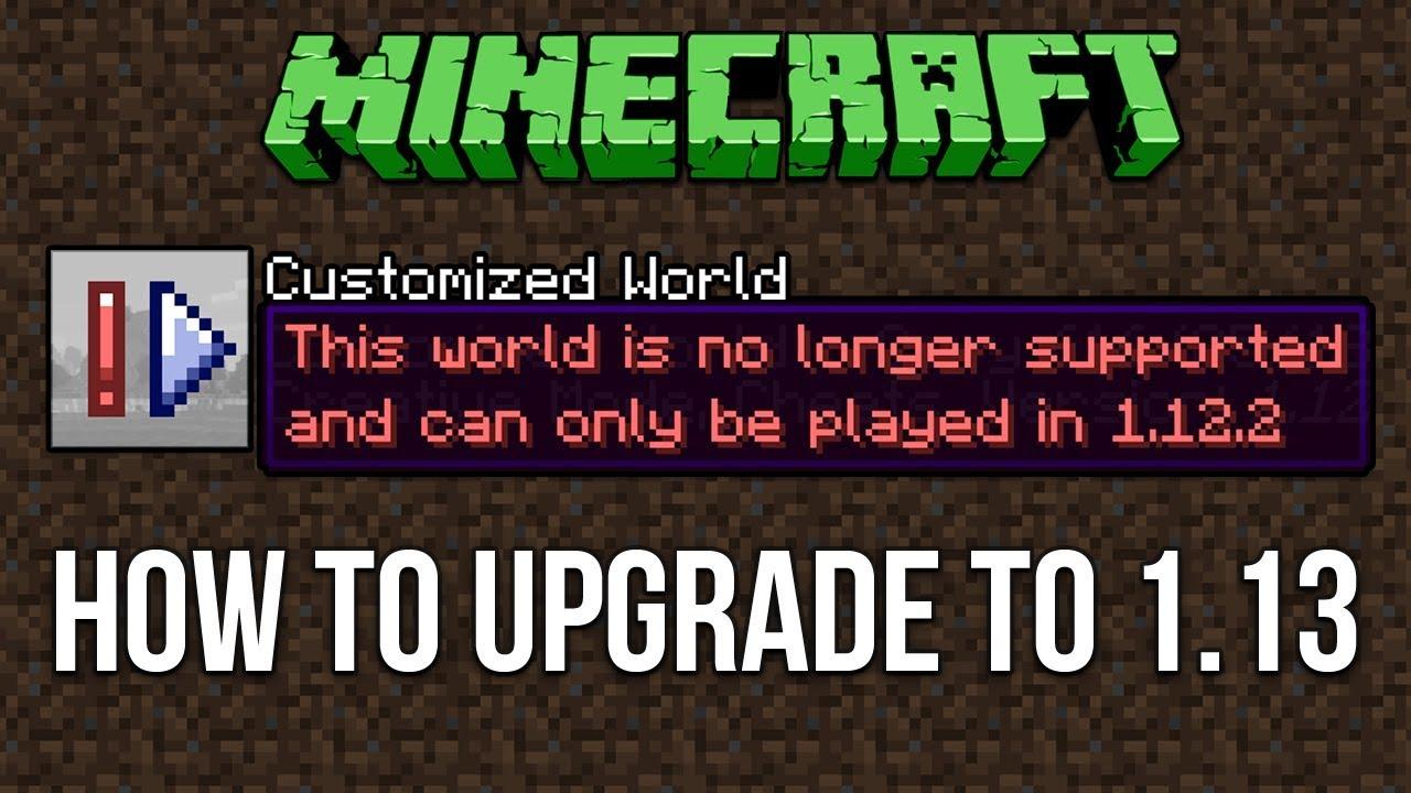 minecraft 1.13 download size