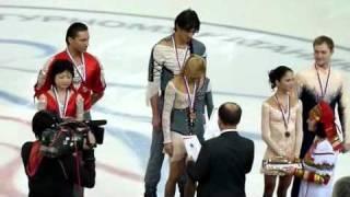 ЧР-2011. Церемония награждения. Пары