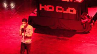 Kid Cudi - Mr. Rager- Live New Song