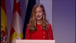 Palabras de S.A.R. la Princesa de Asturias y Girona en los premios FPdGi 2019