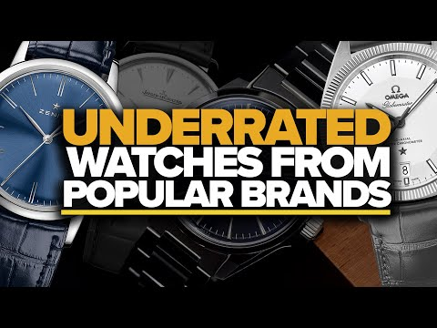 Underrated Watches From Popular Brands (Seiko, Omega, Hamilton, Rolex & More)