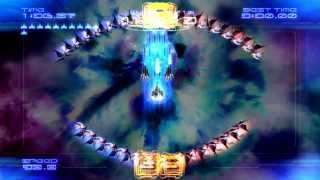 Galaga Legions DX Time Attack Championship Level 5 Clear