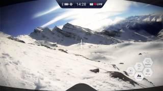 rideon augmented reality ski goggles teaser