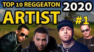 Top 10 Reggaeton Artists 2020 | Best Reggaetón Artists in the World