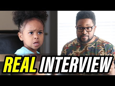 My first REAL Interview With A Toddler