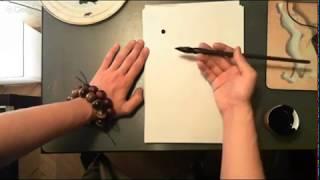 Вводный урок видео-курса по китайской живописи У-Син. Пять иероглифов у-син: пишем и чувствуем