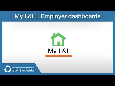 My L&I - Employer dashboards