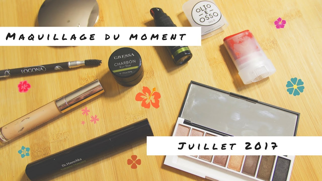 b969e8c73bc Maquillage du moment | Gressa Skin, Lily Lolo, Dr. Hauschka... - YouTube