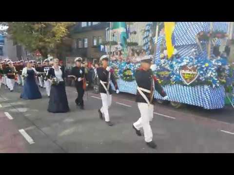 optocht oktoberfeest sittard 2018 walramstraat - schutterij st