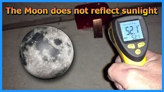 The Moon Is Not Reflecting Sunlight - Weird Plane Near Chemtrails