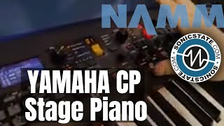 NAMM 2019 Yamaha CP 73 and CP Stage Piano