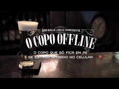 Bar Salve Jorge apresenta o Copo Offline