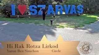 Hi Rak Rotza Lirkod (היא רק רוצה לרקוד) - Yaron Ben Simhon (ירון בן שמחון) - Machol Hungaria 2015