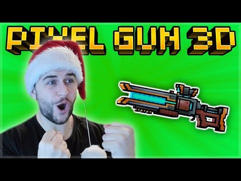 THIS SNIPER IS INSANE! I USED IT LIKE A PRIMARY WEAPON MYTHICAL LASER CARBINE | Pixel Gun 3D