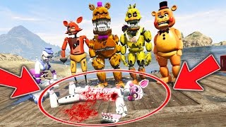 animatronics vs murder mystery who killed funtime foxy gta 5 mods for kids fnaf funny moments