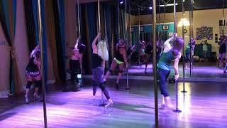 Better Than Life - Papa Roach Beginner Pole and Floor Dance Routine 6-4-19