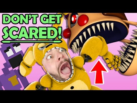 You SCARE You LOSE: FNAF Edition 😱 (Five Nights at Freddy's NEW Game: Final Nights 4) thumbnail