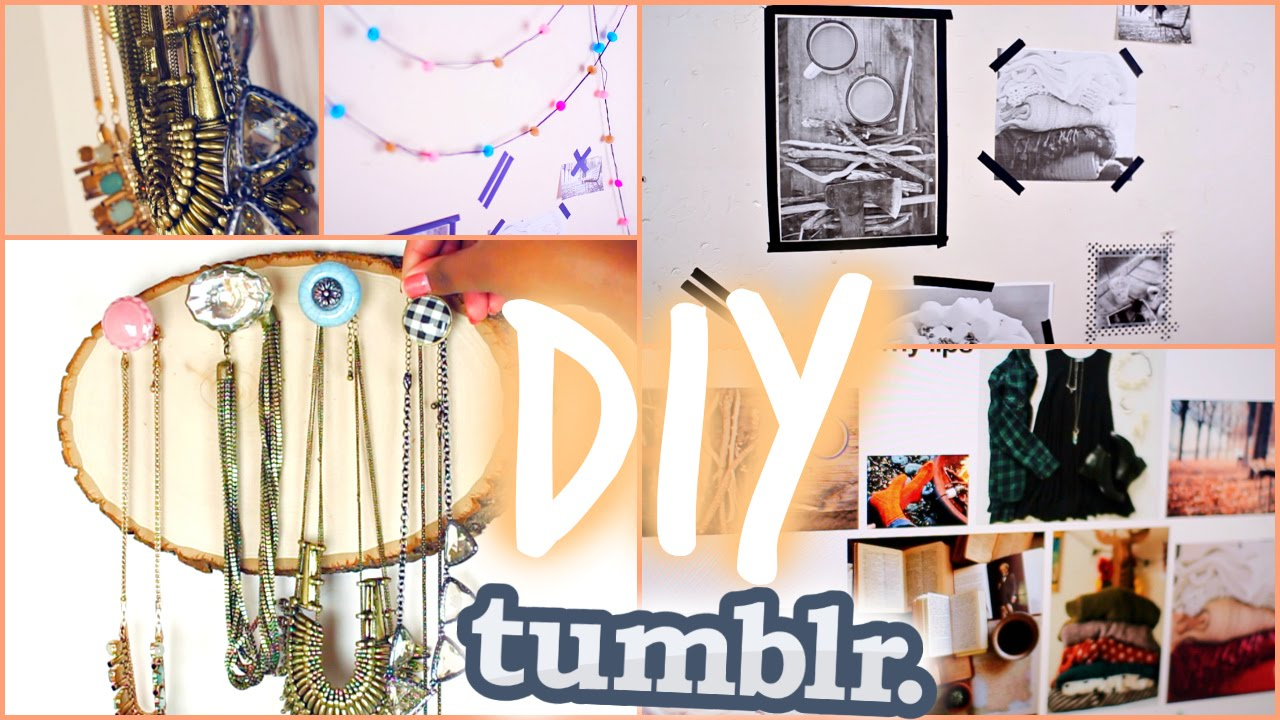Fall DIY Tumblr Room Decor 2014