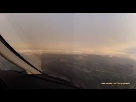 [HD] Pilot's eye view - flying from 'paradise' to 'hell'