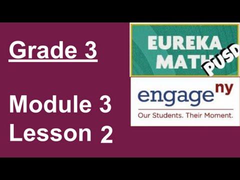 EngageNY Grade 3 Module 3 Lesson 2