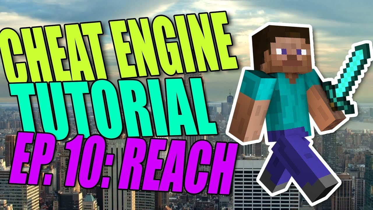 Cheat Engine Hacking Tutorial Episode #10 | Reach Hack! | How To Hack  Minecraft Windows 10