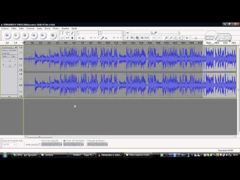 como cortar uma musica com o audacity
