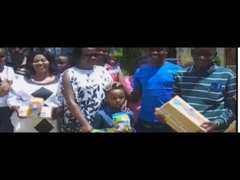 Murang\'a County first lady joins local leadership in donation drive to local children\'s homes