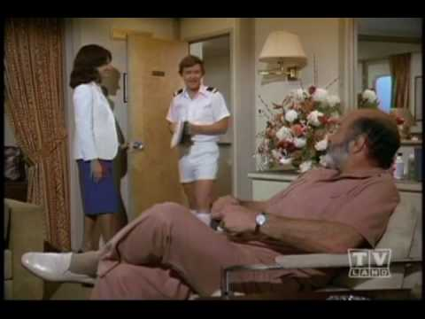 Pernell Roberts as Brian Mallory on Love Boat