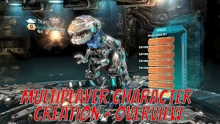 Transformers Fall Of Cybertron Remastered Chapter Multiplayer Character Creation and Overview