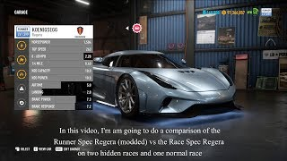 NFS Payback Mods   Runner Spec Koenigsegg Regera