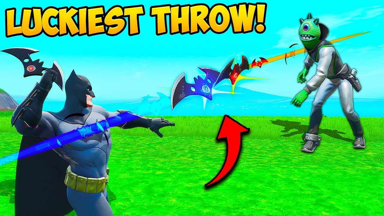 *WORLDS LUCKIEST* BATARANG THROW!! – Fortnite Funny Fails and WTF Moments! #690 thumbnail