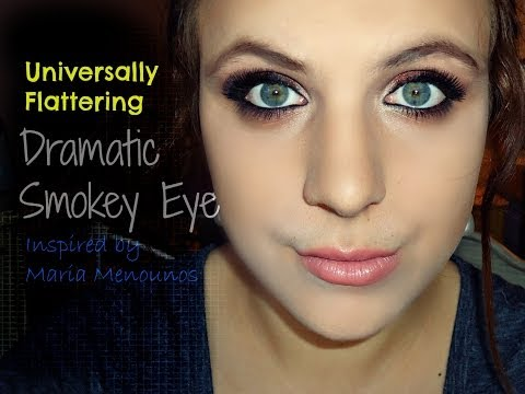 Dramatic Look for All Eyes Inspired by Maria Menounos