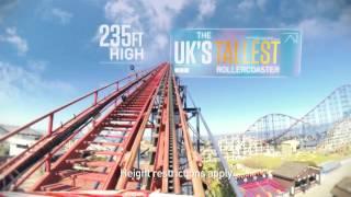 Blackpool Pleasure Beach 2014 Thrill Seeker Advert