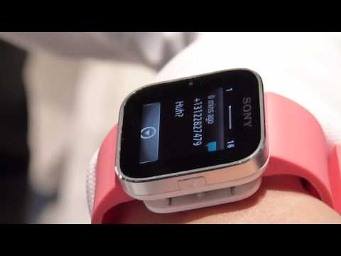 Sony SmartWatch demonstration