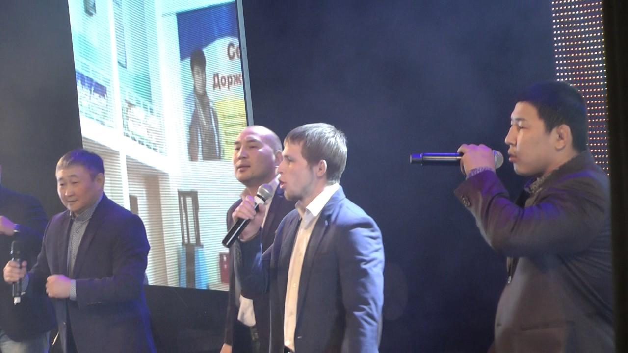 Шедевр бурятского спорта! Прославленные самбисты поют о мечте .