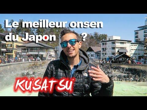 UN DES MEILLEURS ONSEN DU JAPON ! KUSATSU