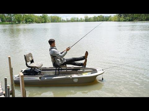 Mini Bass Boat Challenge On Lake X! - Loser Eats LIVE Worm