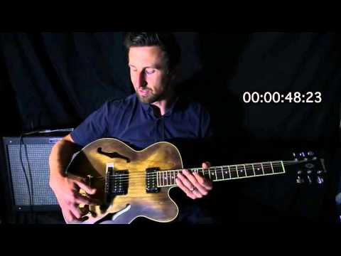 IBANEZ AF55 ELECTRIC GUITAR - 60 SECOND REVIEW