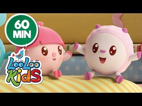 BabyRiki 60MIN (Hopping) - Cartoons for Children   LooLoo Kids