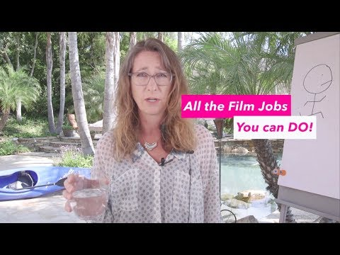 All the Film Jobs You can Do!