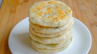 最简单的早餐馅饼,不揉面,不擀面,馅饼皮薄如纸